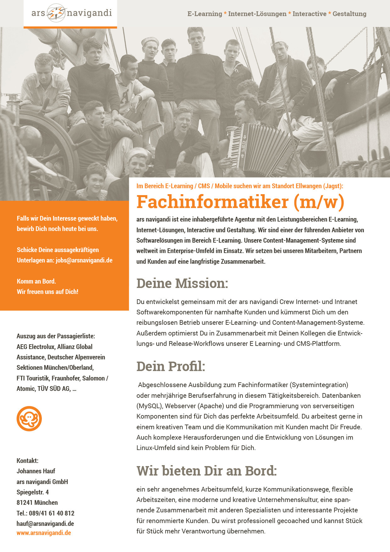 Fachinformatiker(in)